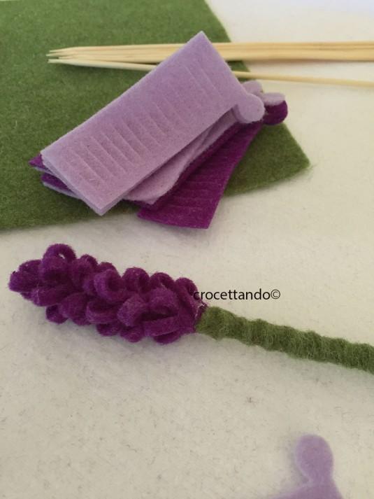 fiore di lavanda gambo
