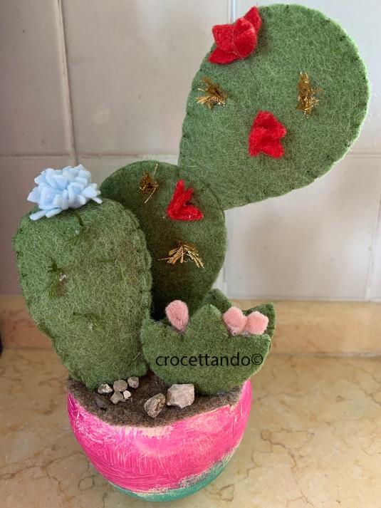cactus riciclato finito